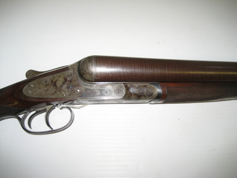 8 Gauge Shotgun for Sale http://www.dogsanddoubles.com/2011/09/at-auction-a-holy-crp-l-c-smith-8g-grade-4/