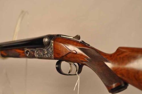 16 gauge Parker DHE double barrel shotgun