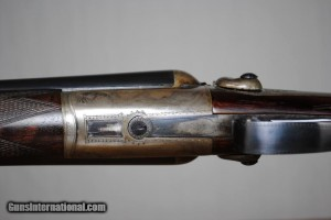 Thomas Wild 12 gauge Hammergun Double Barrel Shotgun