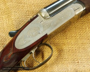 28 gauge Saraqueta side-by-side double barrel shotgun