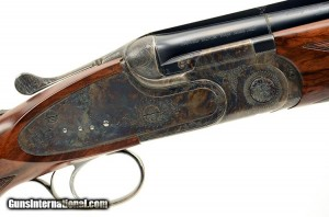 Color-case hardened SO-5 Sporting Over Under 12 gauge Shotgun