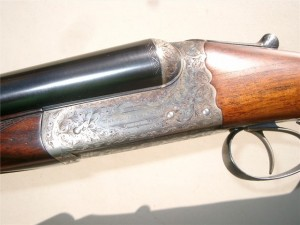A standard boxlock Westley Richards