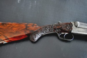 12 gauge Thomas Kilby Side-by-Side Double Barrel Shotgun