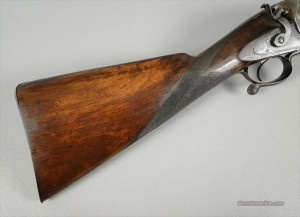 Massive 4 gauge, A. Peterman, Philadelphia, Single Barrel Waterfowl Shotgun