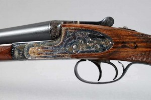 AYA AGUIRRE-ARENZABAL MODEL 2 12 GAUGE SIDE X SIDE SHOTGUN