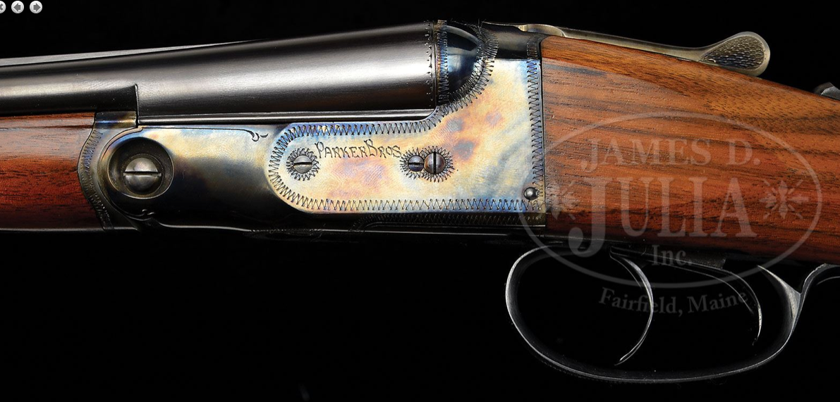Original or redone? A .410 Parker Double Barrel Shotgun