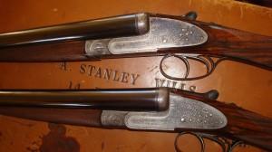 George Gibbs Sidelock Ejector Shotguns. Pic courtesy Graham Mackinlay