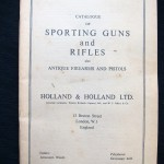 1965 Holland & Holland Sporting Guns & Rifles Catalog