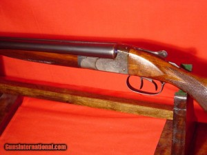 20 gauge Ithaca NID double barrel SxS shotgun