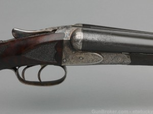 1921 A.H. Fox 20 gauge XE double barrel shotgun