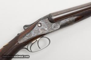 W & C. Scott and Son 12g Premier grade double – barreled SxS shotgun