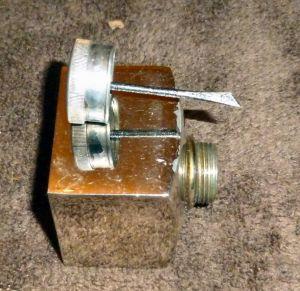original John Dickson & Son Gun Oil Bottle With Dipper