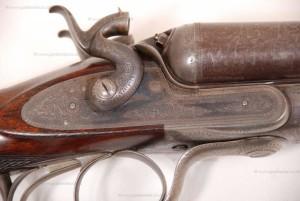 John Dickson & Son, 10 gauge Hammer (Under Lever) Shotgun