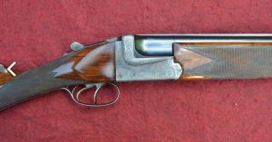 Auguste Francotte 12 Gauge O/U Double Barrel Shotgun